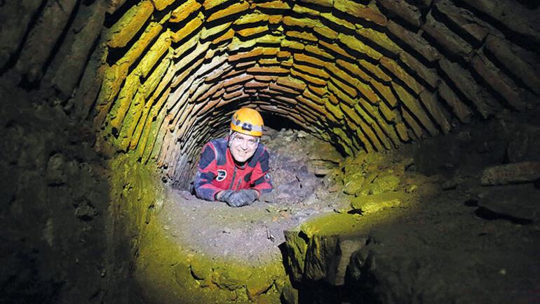 Ayasofya'nın  'gizemli' yeraltı menfezleri 3 boyutlu tarandı