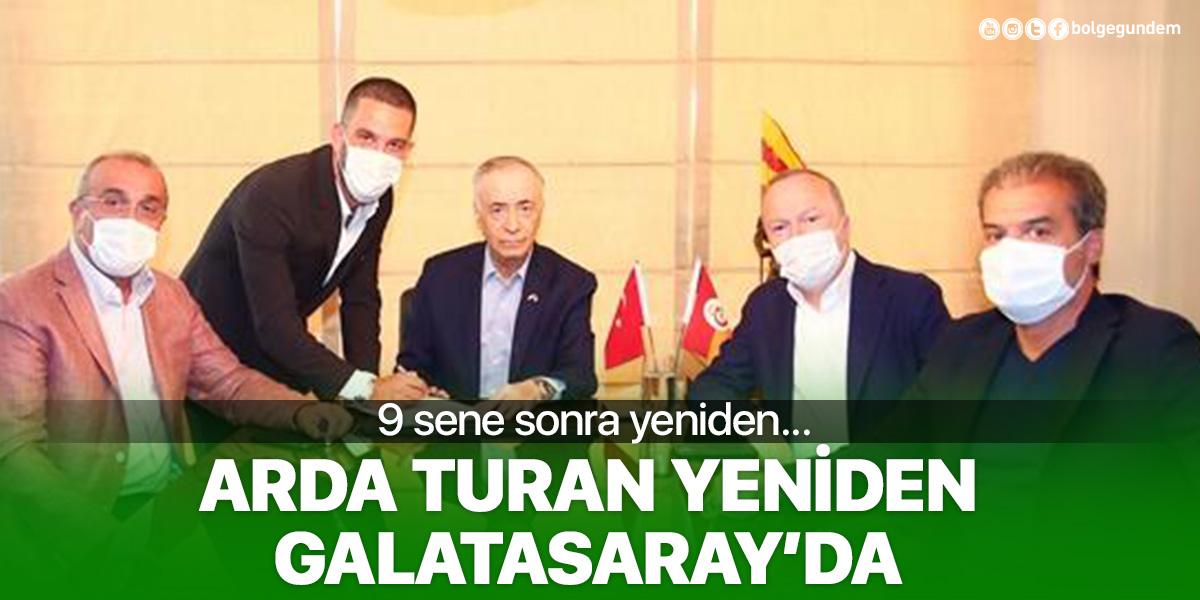 Galatasaray, Arda Turan transferini resmen duyurdu