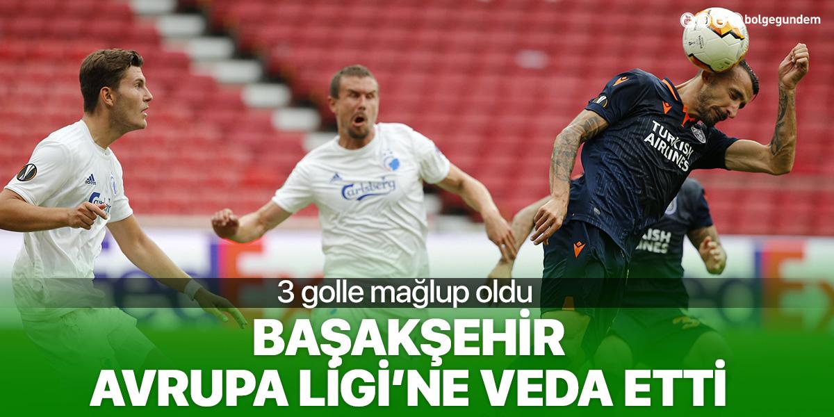 Başakşehir, Avrupa Ligi'ne veda etti