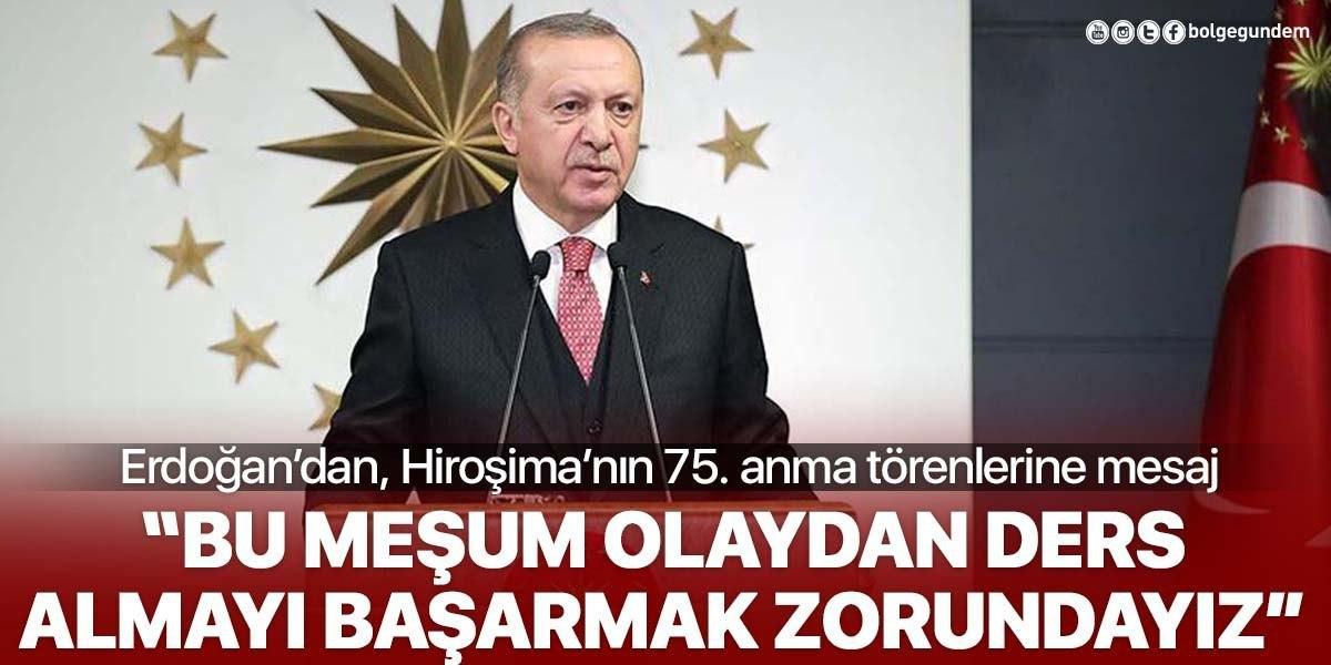 Cumhurbaşkanı Erdoğan'dan Nazım Hikmet Şiiri