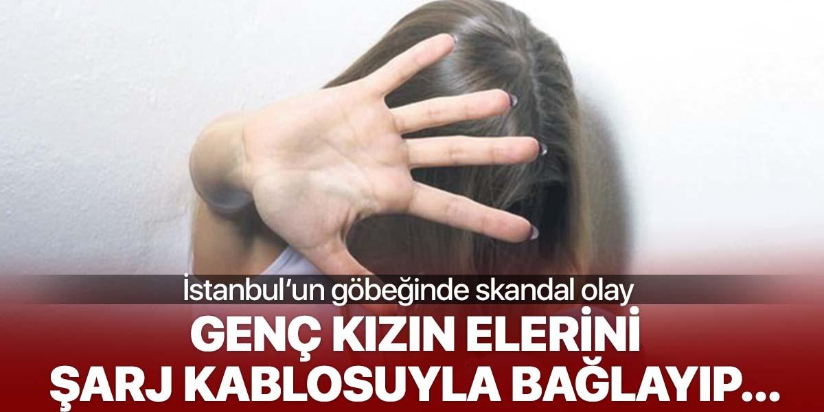 İstanbul'un göbeğinde cinsel şiddet!