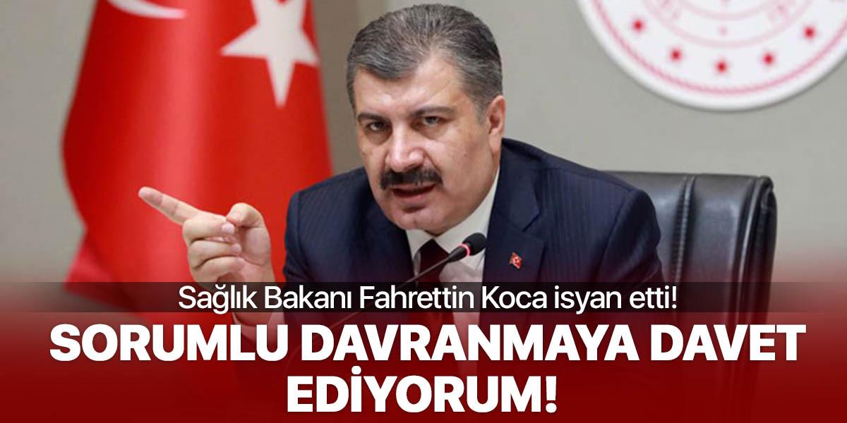 Sağlık Bakanı Fahrettin Koca'dan sert çıkış!