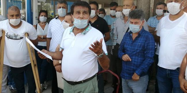 Mersin Büyükşehir Belediyesinde grev!