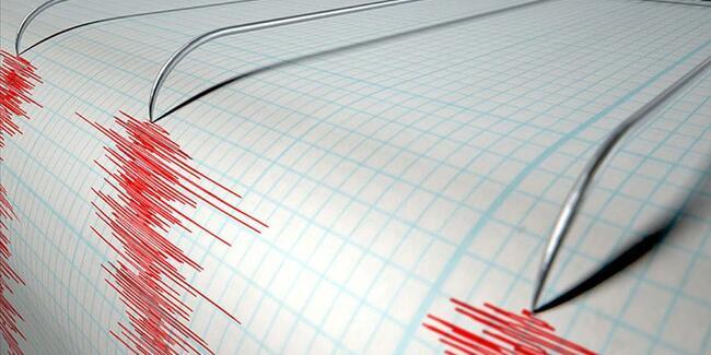 Antalya'da 3.7 büyüklüğünde deprem!