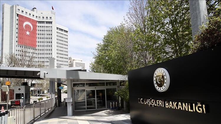 Dışişleri Bakanlığı: Türkiye gerekli adımları kararlılıkla atacaktır