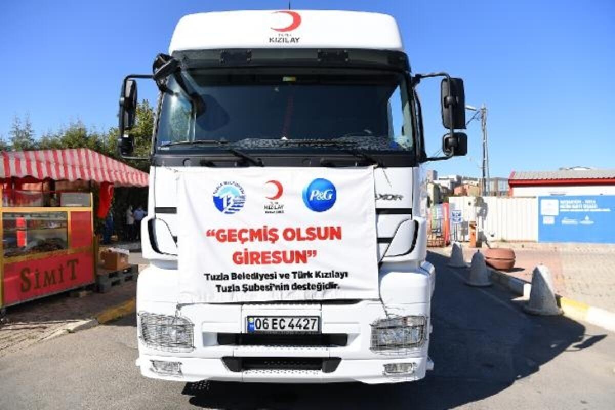 Amasya'dan Giresun'a yardım: 3 kamyon yola çıktı