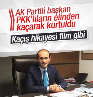 PKK'lıların kaçırdığı, AK Parti İspir İlçe Başkanı Nasıl Kaçtığını Anlattı