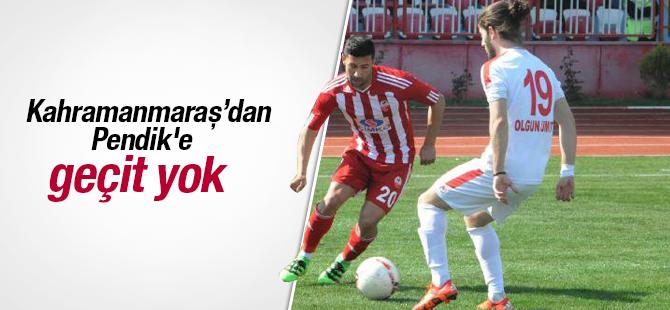 Kahramanmaraşspor'dan Pendik'e Geçit Yok! 3-2