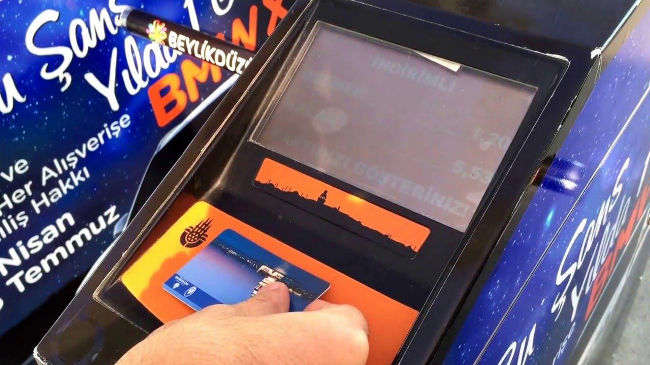Otobüs kartına HES kodu nasıl yüklenir, eklenir, girilir? Otobüs kartına HES kodu yükleme, tanımlama