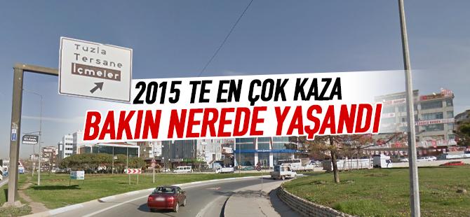 2015'te İstanbul'da, En Çok Trafik Kazası Tuzla'da Gerçekleşti