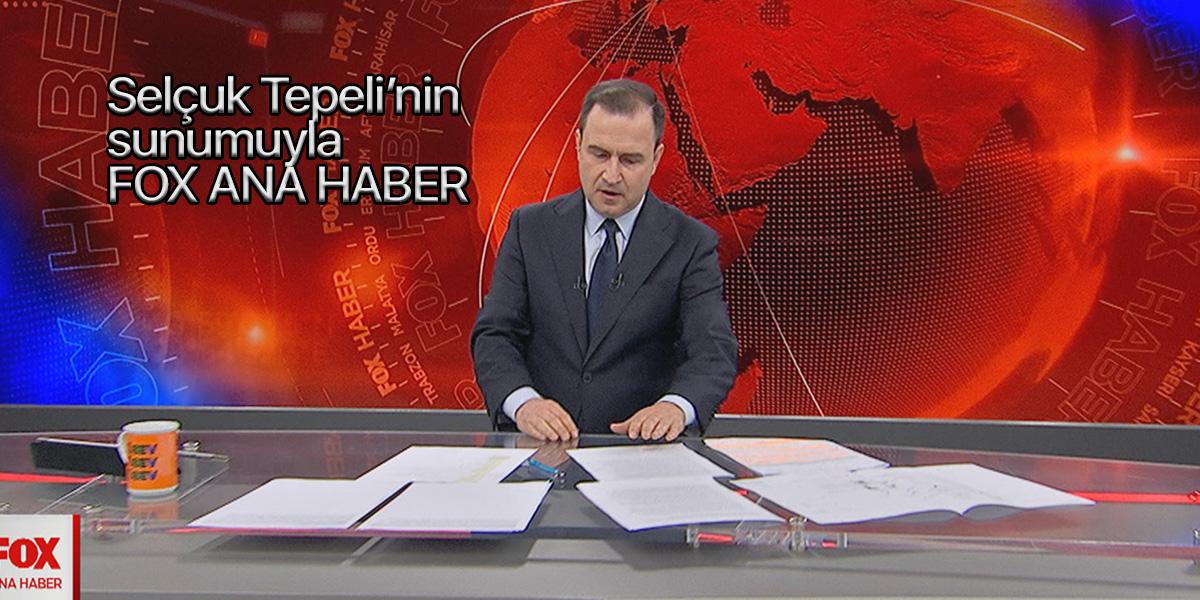 FOX TV Ana Haber Selçuk Tepeli canlı izle   26 Kasım Perşembe
