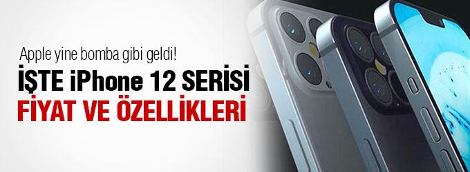 iPhone 12 serisinin özellikleri   iPhone 12 - iPhone 12 mini - iPhone 12 Pro - iPhone 12 Pro max fiyatı, renkleri