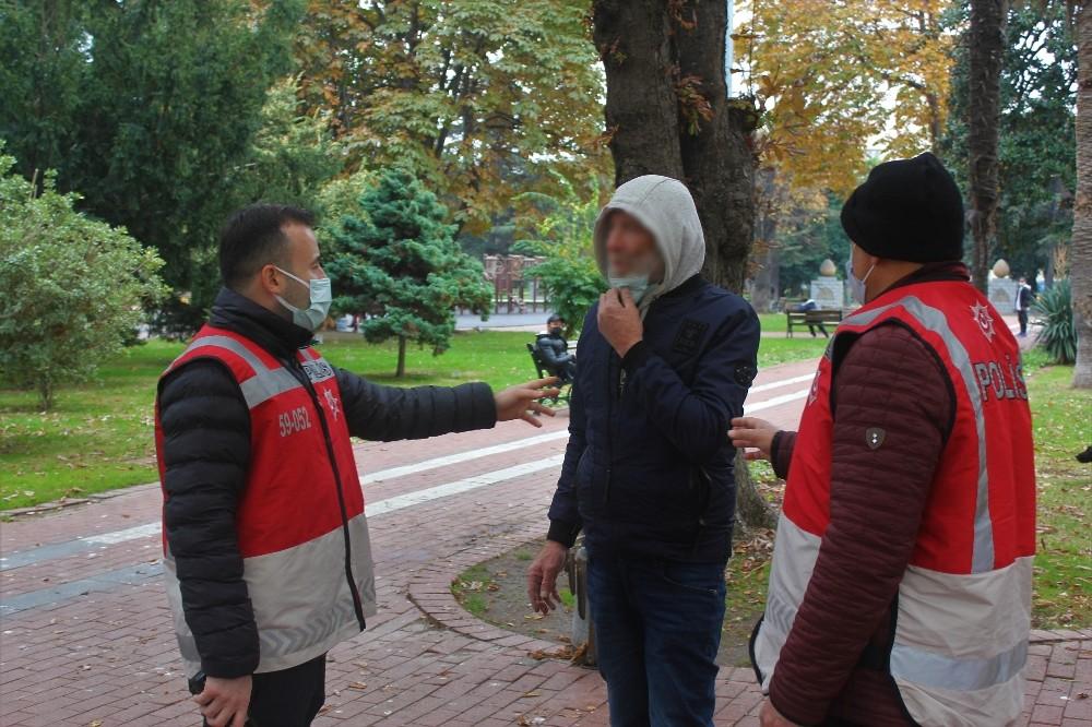 Samsun'da sigaradan ceza yiyen şahıs gazetecilere hakaret etti!