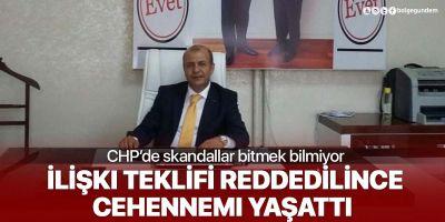 Eski CHP Bitlis İl Başkanı Veysi Uyanık, ilişki teklifini reddeden kıza cehennemi yaşattı
