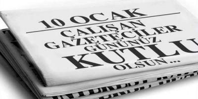 10 Ocak Çalışan Gazeteciler Günü kutlama, tebrik mesajları 2021