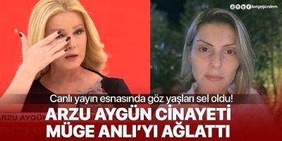 Katledilen Arzu Aygün'ün kızının paylaşımı Müge Anlı'yı gözyaşlarına boğdu
