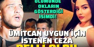 Aleyna Çakır davasının şüphelisi Ümitcan Uygun için istenen ceza belli oldu!