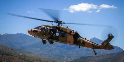 Son dakika | Bitlis'in Tatvan İlçesi'nde helikopter düştü!