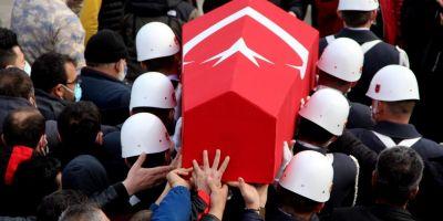SON DAKİKA! Türkiye, şehitlerine karşı son görevini yerine getirdi