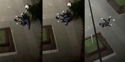 Samsun'da sokak ortasında dehşet anları: Çocuğunun gözü önünde eski eşini bayıltana kadar dövdü