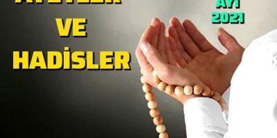 Ramazan Ayı ile ilgili ayetler ve hadisler 2021