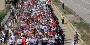 """CHP'nin düzenlediği """"Fındıkta Adalet"""" yürüyüşü 2. gününde sürüyor"""