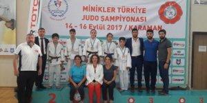 Kağıtsporlu minik judocular bu yıl da zirvede