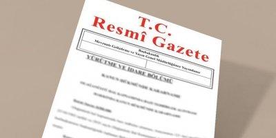 Başbakan Yardımcılığı, Adalet ile Aile ve Sosyal Politikalar Bakanlıklarına Ait Atama Kararları Resmi Gazete'de