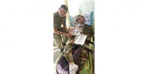 ALS hastası gönüllü olarak bir günlük askerlik yaptı