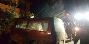 Isparta'da trafik kazası: 2 yaralı