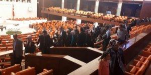 Şehit aileleri mecliste