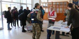 Erzincan'da 17 Pakistan 110 Afganistan uyruklu mülteci yakalandı