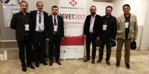 Bartın Üniversitesi akademisyenlerinden ISVET 2017'ye destek