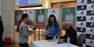 Kahraman Tazeoğlu, Bigalı okurlarıyla buluştu