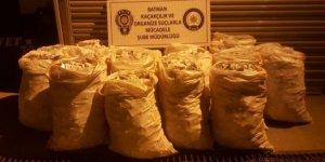 Batman'da 72 bin 600 paket kaçak sigara ele geçirildi