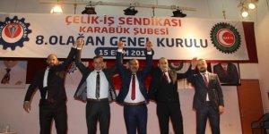 Çelik-İş Sendikası Karabük Şubesi Genel Kurulu gerçekleştirildi