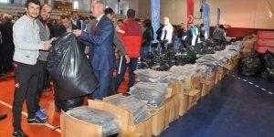 Trabzon'da faaliyet gösteren 217 amatör kulübe malzeme yardımı