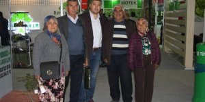 Bayramiçli çiftçiler fuarda Bursa Tarım Fuarı'na katıldı
