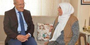 Kafaoğlu Şehit ailelerine ziyaret etti