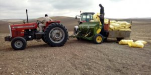Yozgat'ta hububat ekim çalışmaları başladı