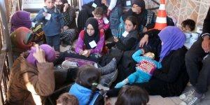 Hatay'da 69 kaçak göçmen yakalandı