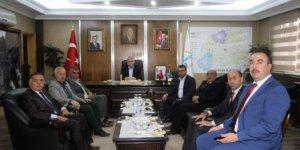 Yazarlardan, Başkan Memiş'e ziyaret