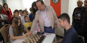 UNESCO Dünya Mirası Edirne Selimiye Camii Külliyesi Satranç Turnuvası yapıldı