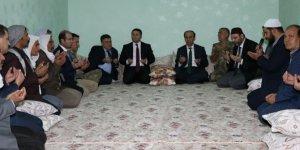 Vali Erin Viranşehir'deki şehit ailesine taziye ziyaretinde bulundu