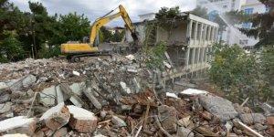 DSİ 92. Şube Müdürlüğü  eski hizmet binası yıkıldı