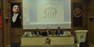 Siirt İl Koordinasyon Kurulu toplantısı yapıldı