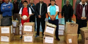 Yozgat'ta amatör spor kulüplerine malzeme desteği yapıldı