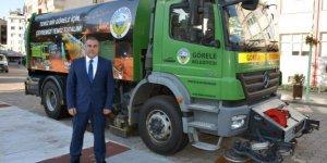 Görele Belediyesi çevre temizliği için yeni araç aldı