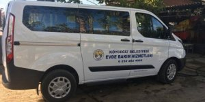 Köyceğiz Belediyesinin 'Evde bakım aracı' yenilendi