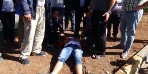 Kilis'te motosiklet yayalara çarptı: 2'si ağır 4 yaralı